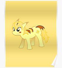 My Little Pokemon - Thunder Blot Poster