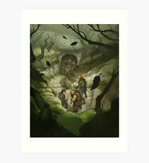 The Quest for Adventure Art Print