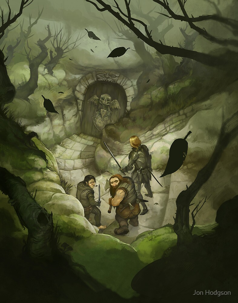 The Quest for Adventure by Jon Hodgson