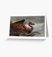 Dragon King Greeting Card
