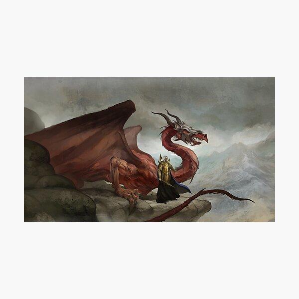 Dragon King Photographic Print