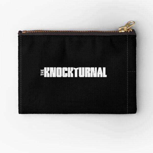 The Knockturnal Black Zipper Pouch