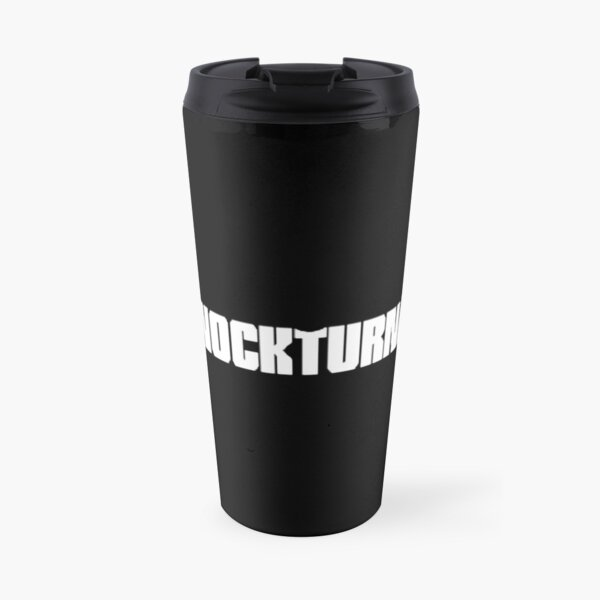 The Knockturnal Black Travel Mug
