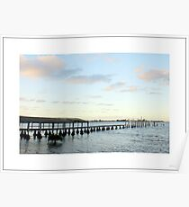 wharf at Taren Point Poster