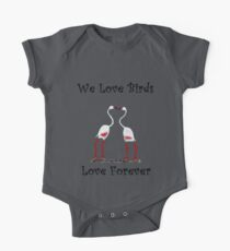 Birds In Love T shirt Special  One Piece - Short Sleeve