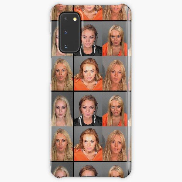 LINDSAY LOHAN MUGSHOTS Samsung Galaxy Snap Case
