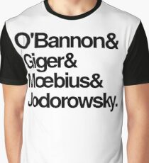 Jodorowsky's Dune - O'Bannon, Giger, Moebius and Jodorowski Graphic T-Shirt