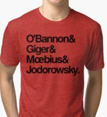 Jodorowsky's Dune - O'Bannon, Giger, Moebius and Jodorowski Tri-blend T-Shirt