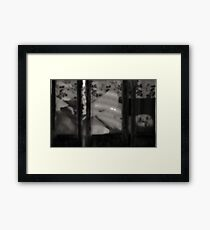 That which forbids the sight Framed Print
