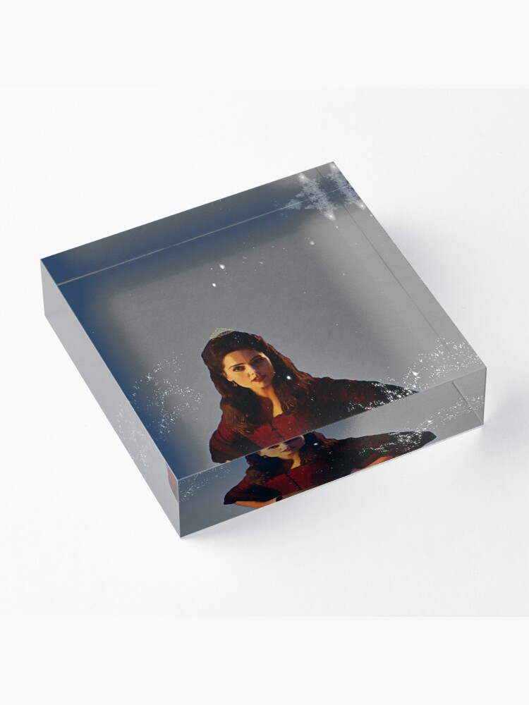 Alternate view of The Queen Acrylic Block