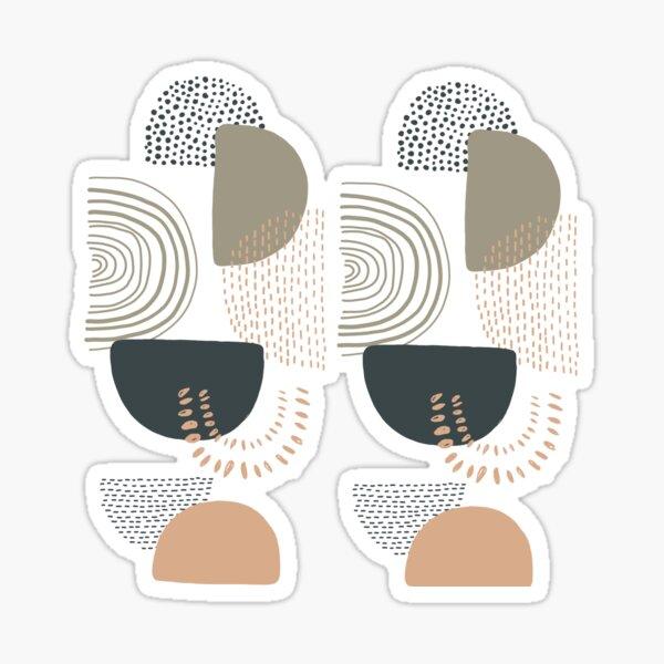 Line art doodle  Sticker