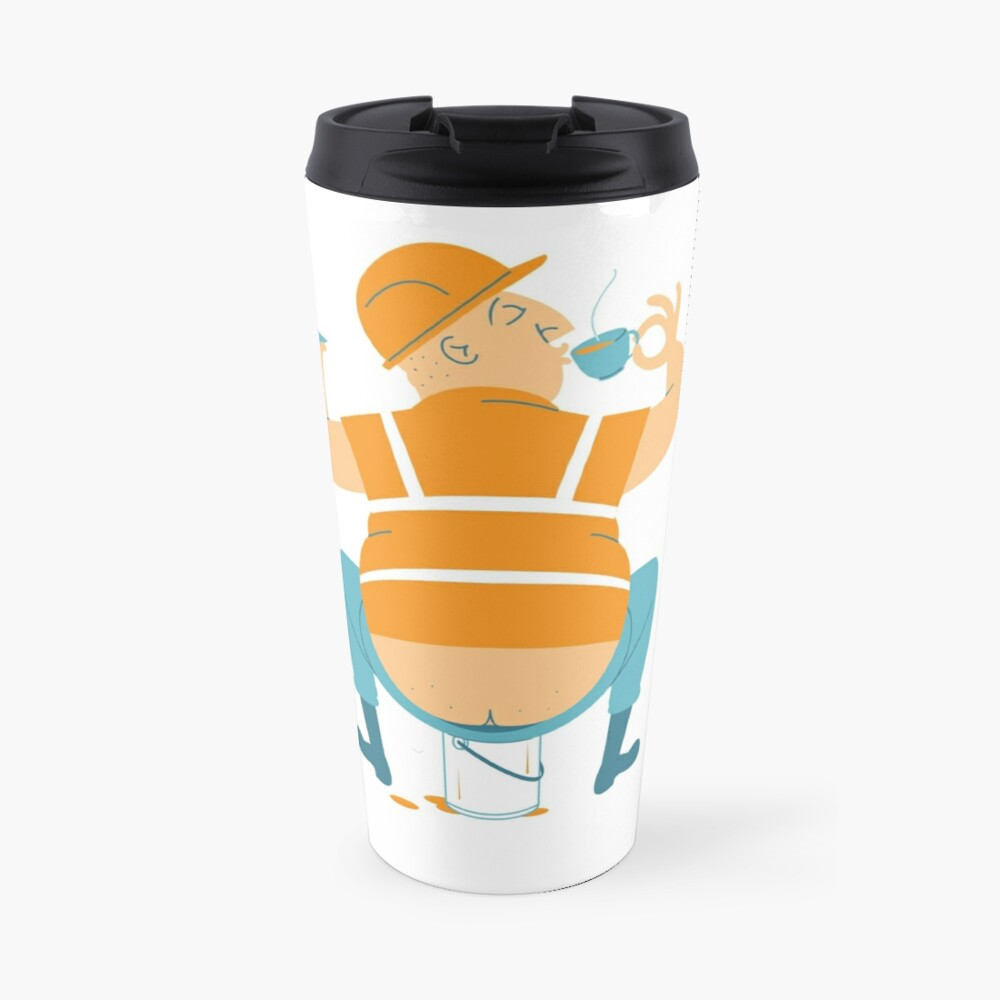 Builder's Tea Travel Mug