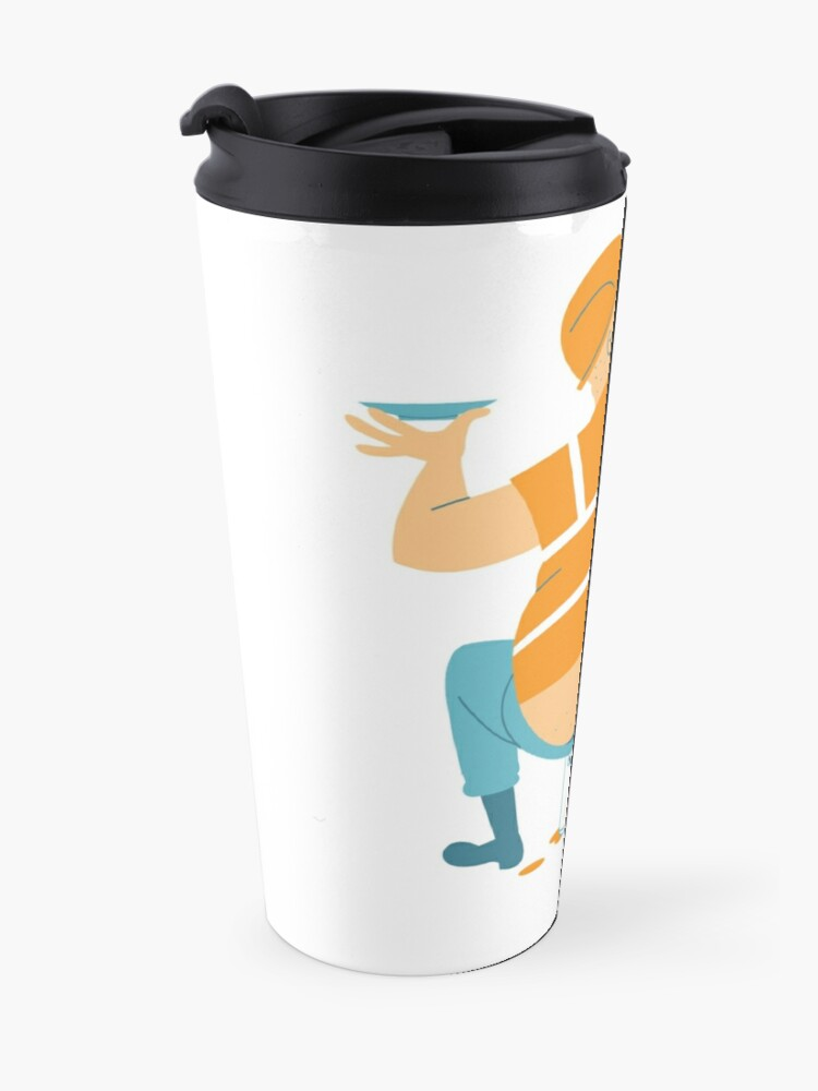 Alternate view of Builder's Tea Travel Mug