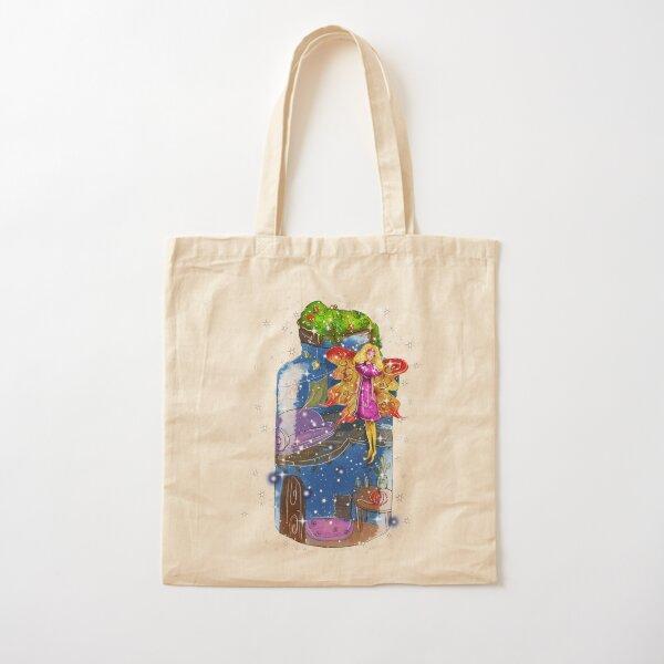Molly The Mason Jar Fairy™ Cotton Tote Bag