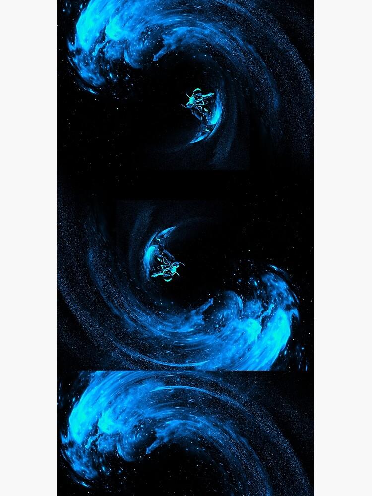 Space Surfing by nicebleed