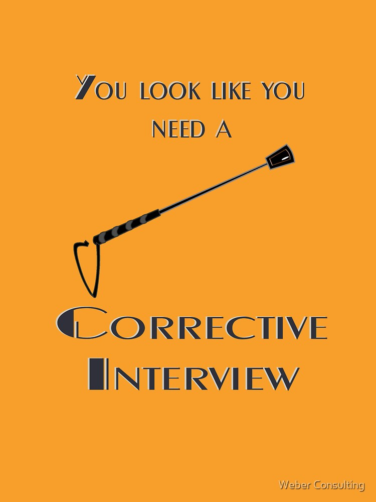Corrective interview by HalfNote5