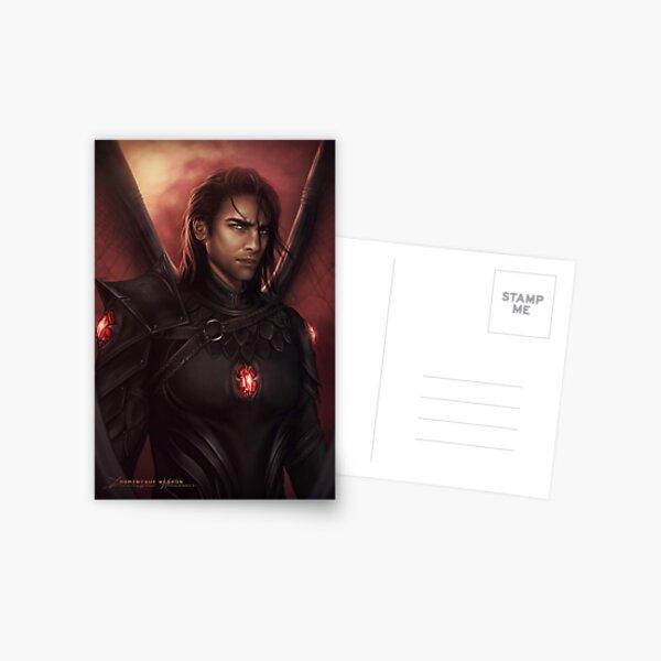 Kommandant Postkarte
