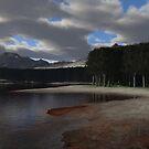 Mountainside Lake by EthanMcFenton