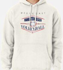 Manhattan Beach California Volleyball Pullover Hoodie