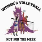Women's Volleyball by SportsT-Shirts