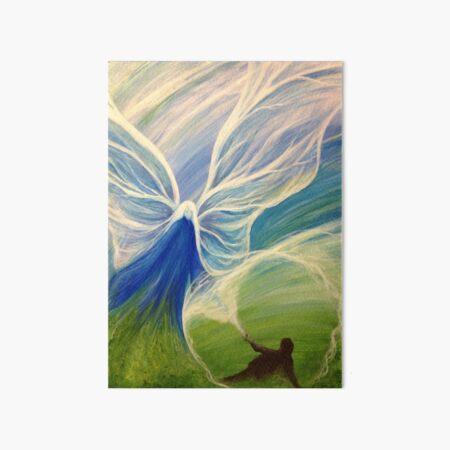 Blue Angel Rescue Art Board Print