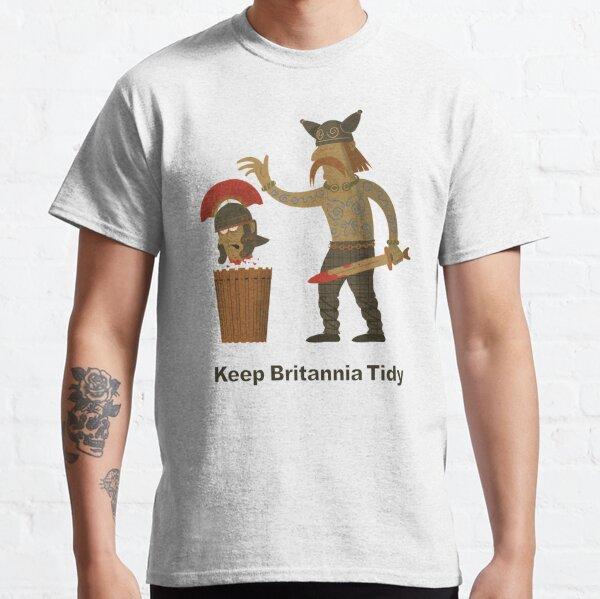 Keep Britannia Tidy Classic T-Shirt