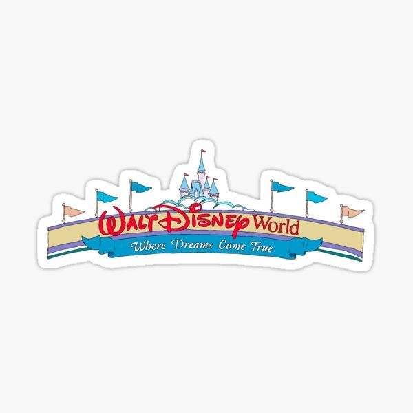 wdw entrance Sticker