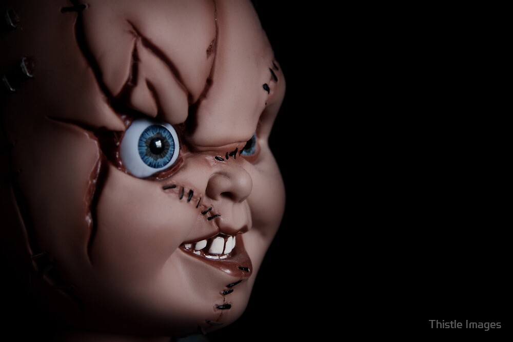 Chucky doll by Thistle Images
