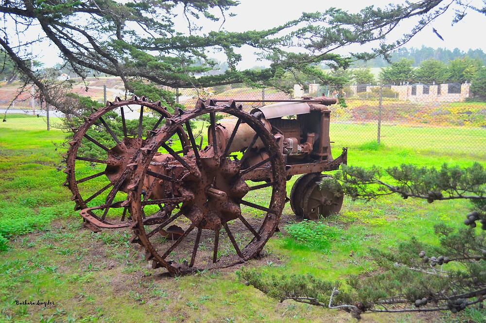 Old Iron by BarbaraSnyder