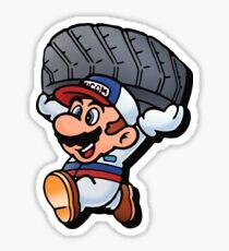Mario Motors Mario F1 Sticker