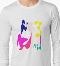 Cheerful Girl Long Sleeve T-Shirt