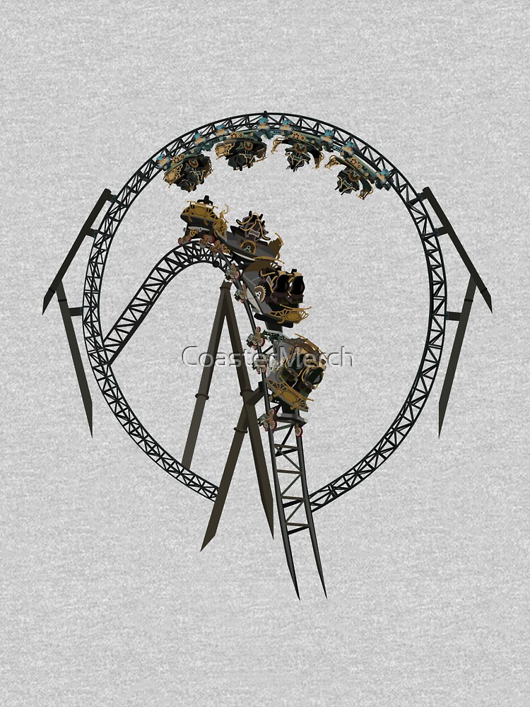 Time Traveller Rollercoaster Design by CoasterMerch
