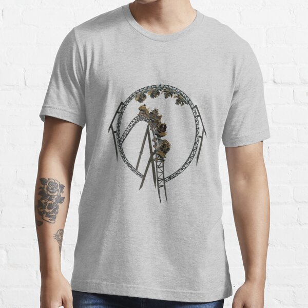 Time Traveller Rollercoaster Design Essential T-Shirt