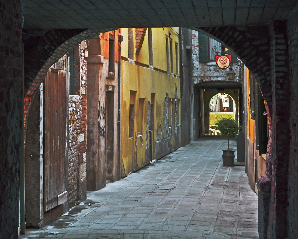 Arch at the Curve San Marco 4320 by Thomas Barker-Detwiler