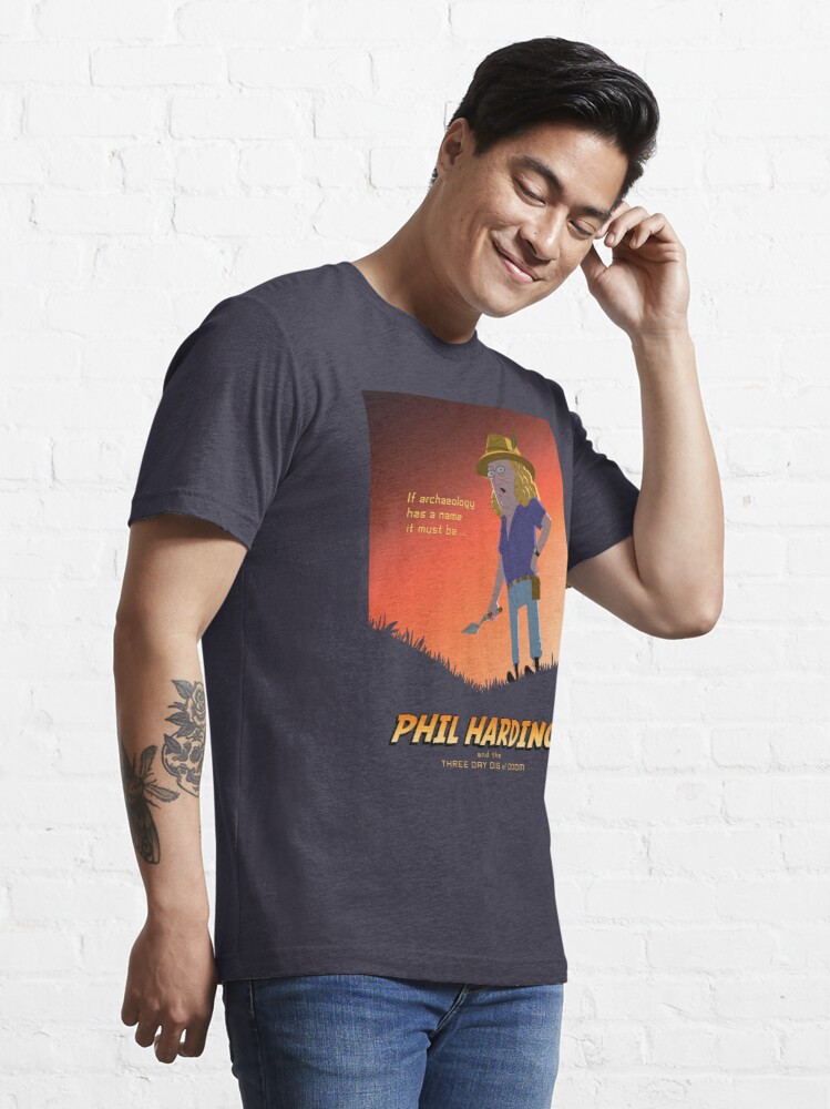 Alternate view of Phil Harding - Time Team Essential T-Shirt