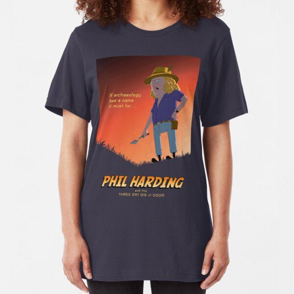 Phil Harding - Time Team Slim Fit T-Shirt