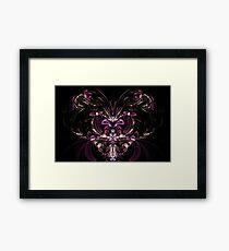 Hearts & Bows Framed Print