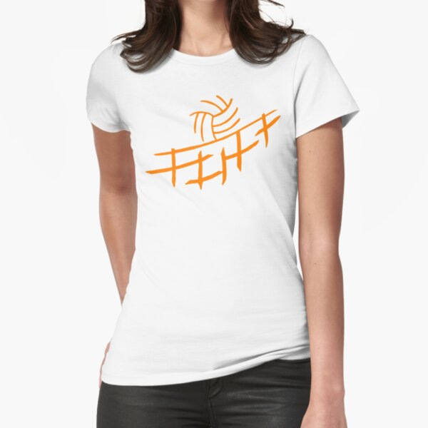 Volleyball Fitted T-Shirt