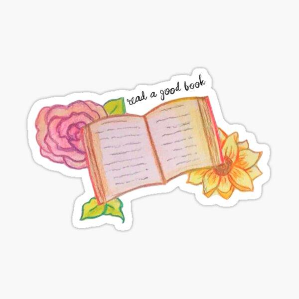 Read a Good Book Sticker