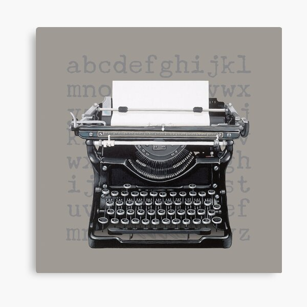Vintage Underwood Typewriter Canvas Print