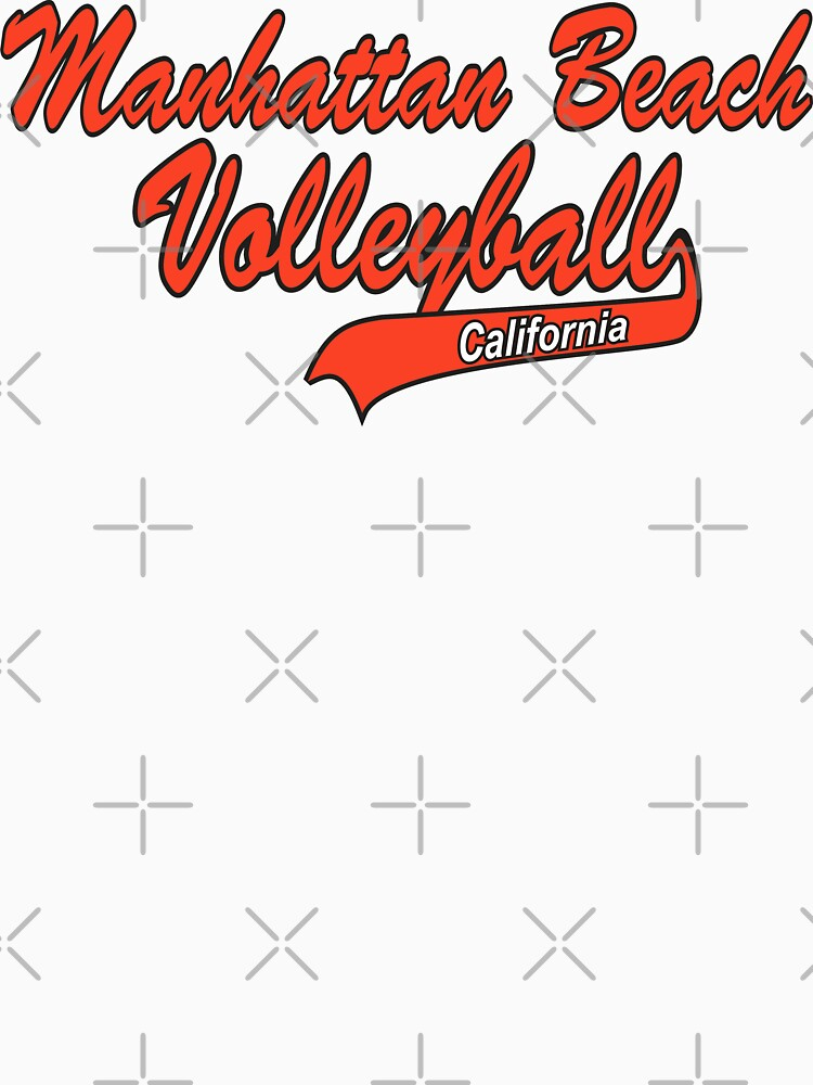 Manhatten Beach California Volleyball by SportsT-Shirts