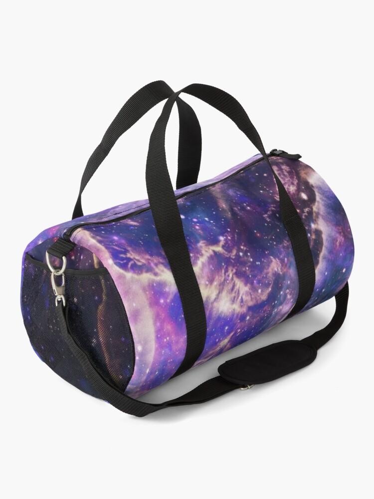 Alternate view of Space Galaxy Universe Cosmos Night Sky Duffle Bag