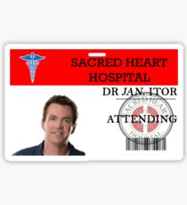 Dr Jan Itor Sticker