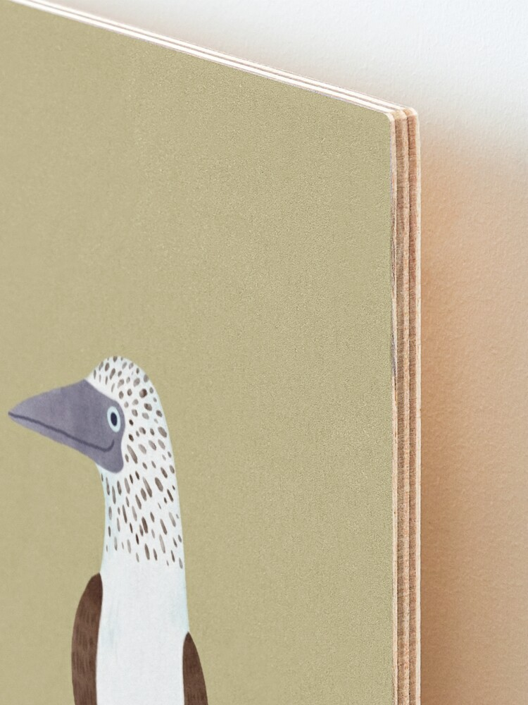 Alternate view of Blue Footed Booby Mounted Print