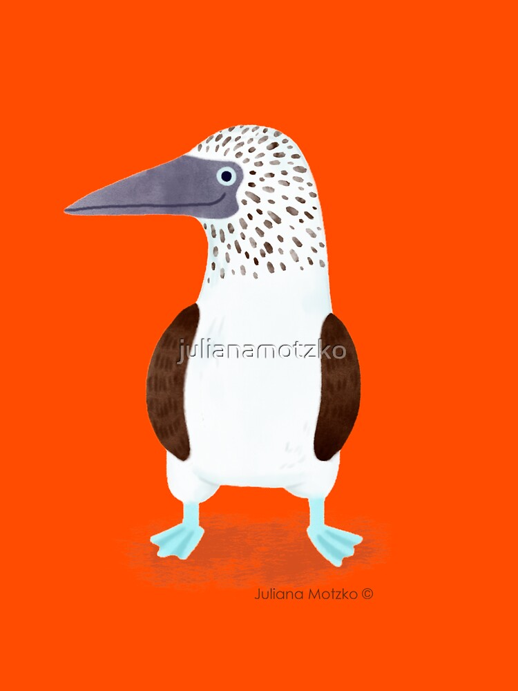 Blue Footed Booby by julianamotzko