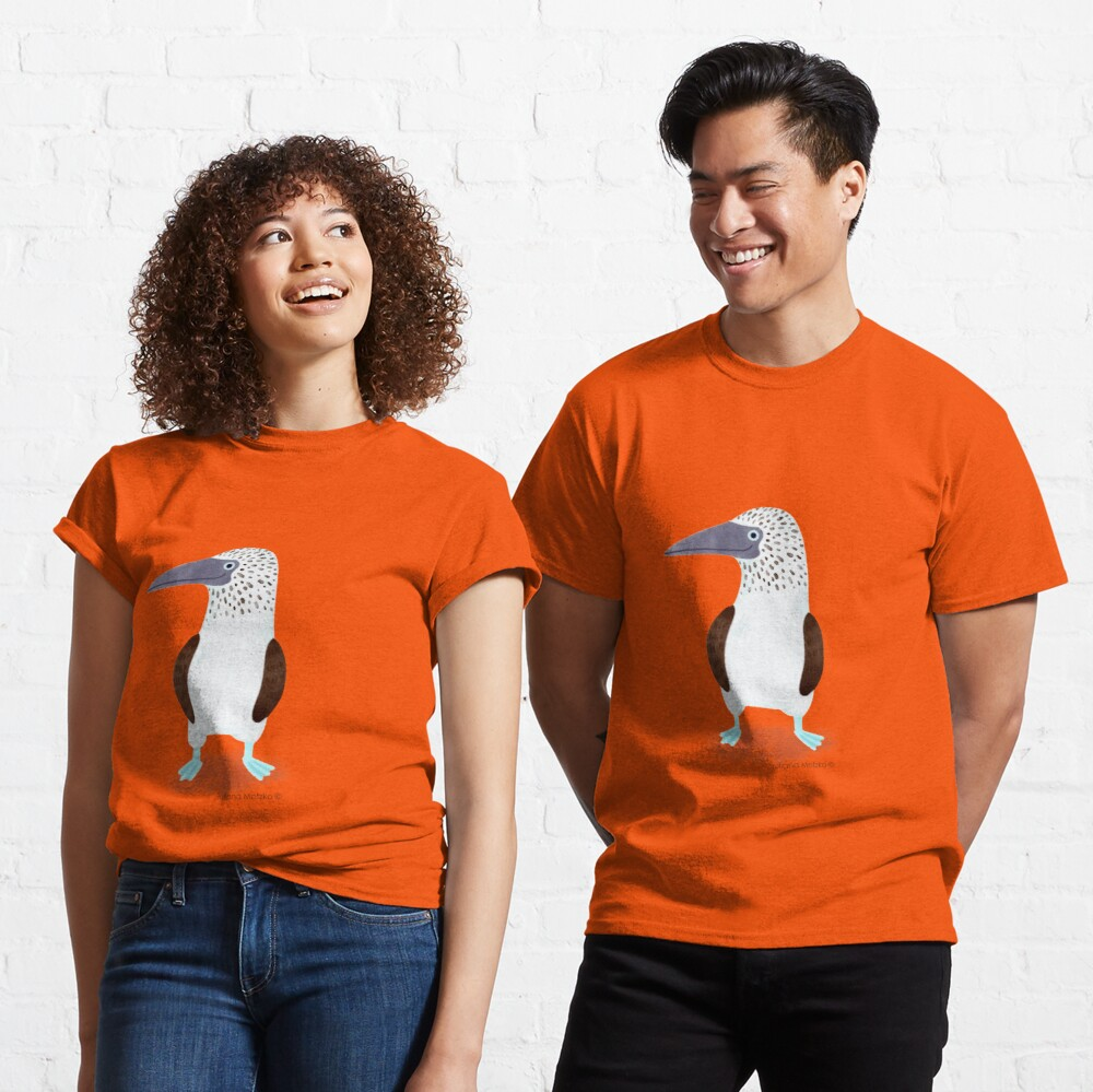 Blue Footed Booby Classic T-Shirt