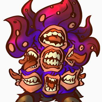 Niggurath Lovecraft Chibi by GildedPixel