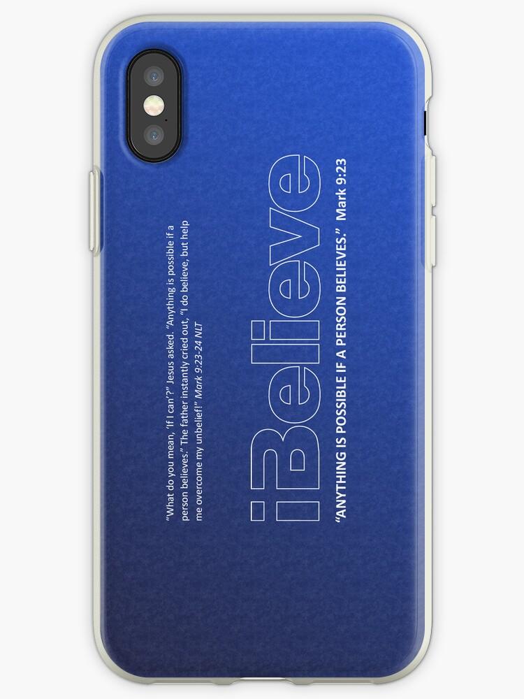 I Believe iPhone/iPod Case by Jeri Stunkard