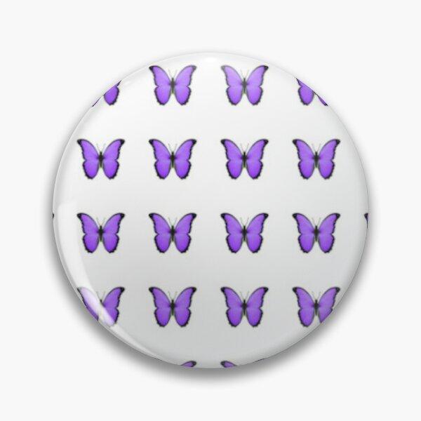 purple butterfly Pin