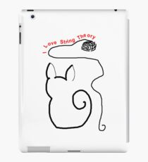 String Theory Cat 1 iPad Case/Skin